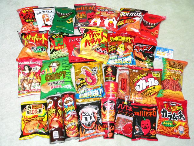 辛い物好きな人が食べてみたくなる!人気の激辛お菓子の数々を紹介のサムネイル画像