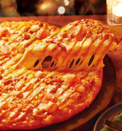 ピザーラは4種類のピザが楽しめるクォーターシリーズを宅配で!のサムネイル画像